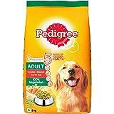 Pedigree Adult Dry Dog Food, Vegetarian, 3kg Pack