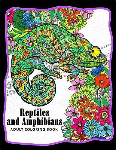 Adult reptile art