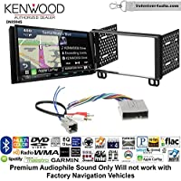 Volunteer Audio Kenwood Excelon DNX994S Double Din Radio Install Kit with GPS Navigation Apple CarPlay Android Auto Fits 2003-2006 Expedition, 2004-2006 Navigator