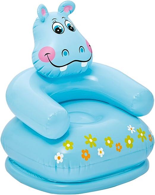 Intex 68556 - Sillón hinchable forma de Hipopótamo 65 x 64 x 74 cm ...