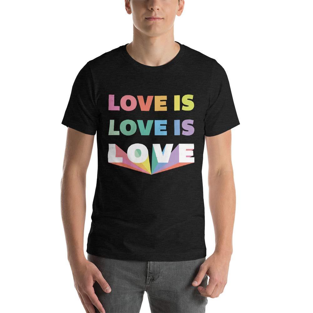 Love is Love is Love Unisex LGBT T-Shirt
