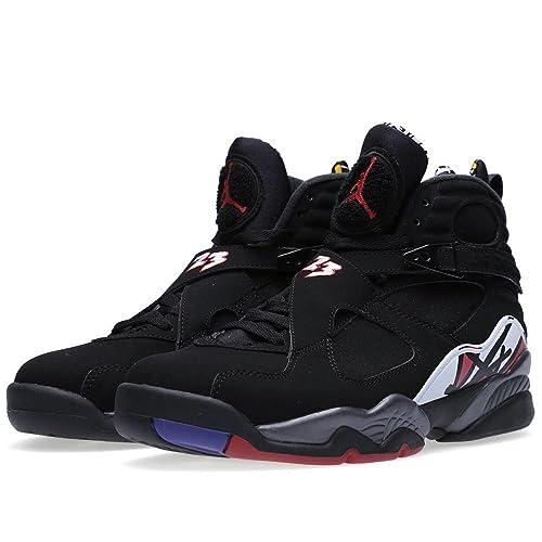 best service f1b00 211e5 Amazon.com   Jordan Mens Air 8 Retro Basketball Shoes Playoff 305381-061    Basketball
