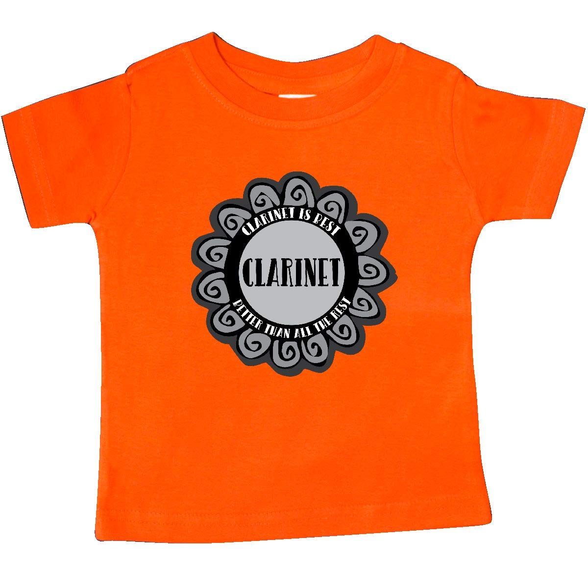 inktastic Clarinet is Best Baby T-Shirt