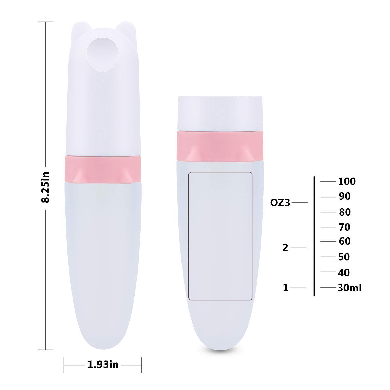Amazon.com: Burabi - Cuchara de silicona con alimentador y ...