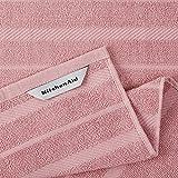 KitchenAid Albany Kitchen Towel Set, Dried Rose