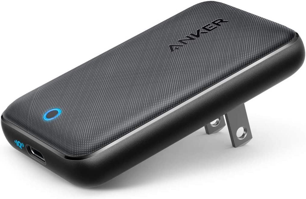 Anker 30W PIQ 3.0 & GaN Tech Power Delivery USB C Charger, PowerPort Atom III Slim Compact Type-C Charger for iPhone 11/11 Pro / 11 Pro Max/XR/XS/Max, Galaxy, Pixel, MacBook and More