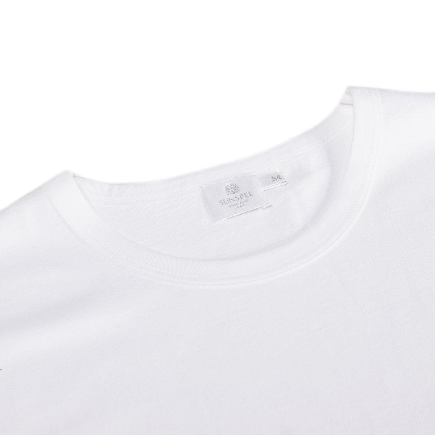 Sunspel - Camiseta - para hombre Blanco blanco large: Amazon.es ...