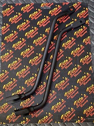 (Vito's Yamaha Banshee Fender Brackets - Front Plastic Braces Stays 1987-2006 New)