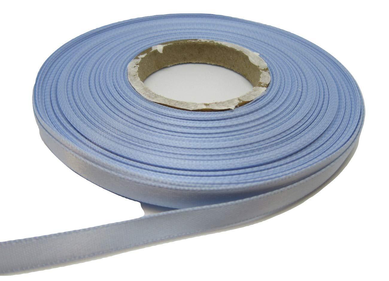 Beautiful Ribbon 2 metri di nastro di raso 7 millimetri azzurro blu doppia faccia 7 mm 7mm