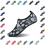 QLEYO Water Shoes Quick Dry Shoes Men Women Barefoot Skin Shoes Beach Water Shoes Swim Yoga surf