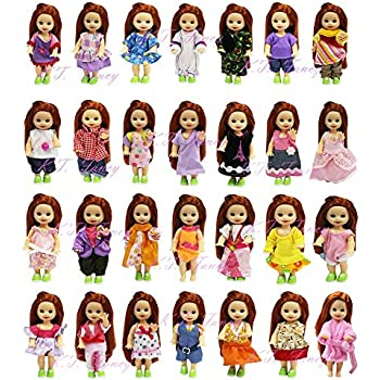 fe25ef2228f7 K.T. Fancy LOT 10 Handmade Summer Fashion Party Clothes Gown for Barbie s  Sister Kelly Size Doll