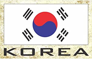 Flag Fridge Refrigerator Magnets – Asia & Africa Group 3 (Country: Korea)