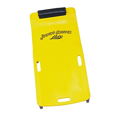 Lisle 93102 Yellow Plastic Creeper: Automotive