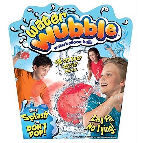 New! Water Wubble Reusable Waterballoon Balls - As Seen On TV!! by Velocity