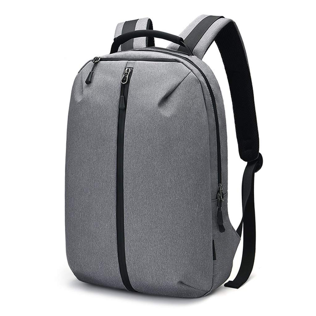 ビジネストラベルバックパックバックパックメンズオックスフォードテキスタイルカジュアル学生バッグ大容量屋外ライトトラベルバッグ30 * 45 * 13 cmグレー   B07P8Q1HZ1