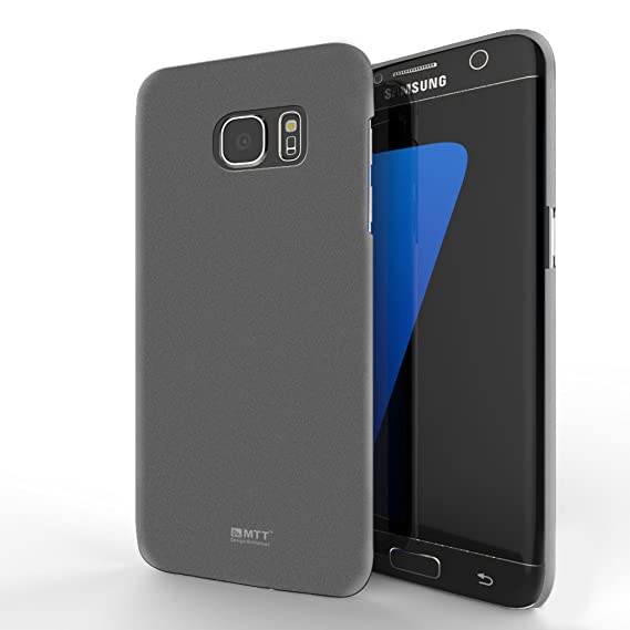 factory authentic 96303 0c0af MTT Back Cover Slim Fit Case for Samsung Galaxy S6 Edge Plus – Dark Silver