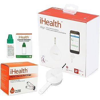 Amazon Com Ihealth Wireless Smart Glucometer For Apple