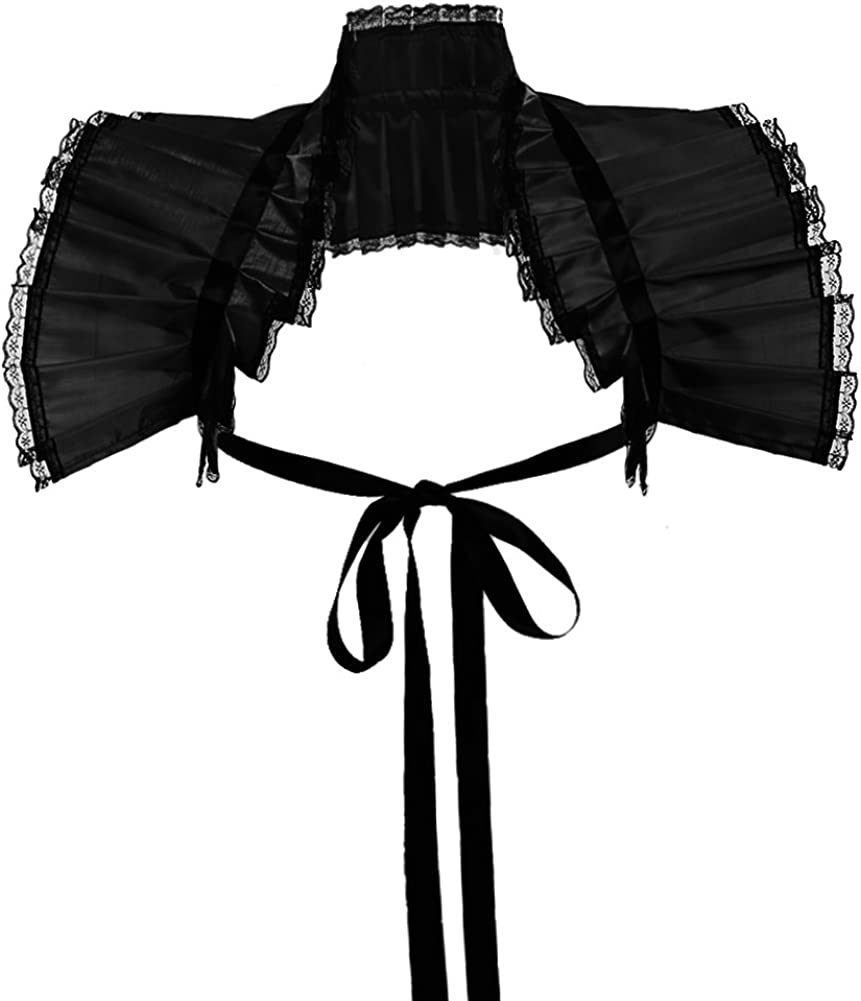 GRACEART Victorian Shrug Shawl Bolero Collar Steampunk Pirate Cosplay Costume Accessories