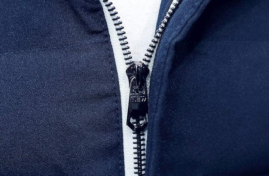 GenericMen Hooded Outdoor Thicken Jacket Coat Short Down Jacket