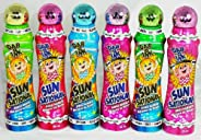 Sunsational Bingo Dauber/Dabber Set of 6-4 oz. - Mixed Colors