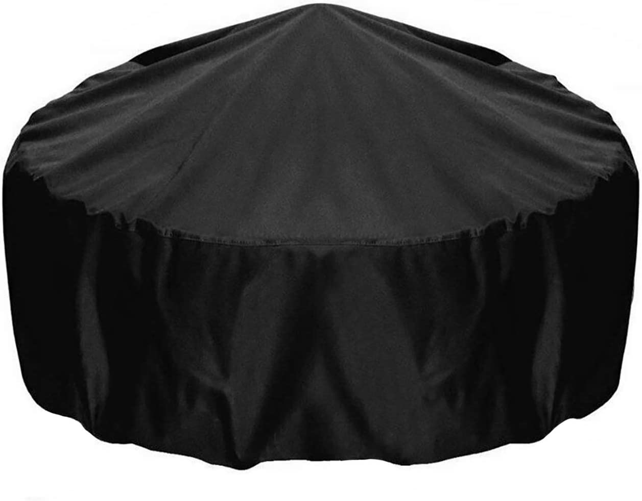2Krmstr Fire Pit Cover Round, 3434 Inch Heavy Duty Patio Cover Gas Fire Pit Cover with PU Coating, Waterproof Weatherproof All-Season Protection Furniture Covers