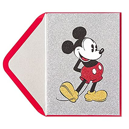 Image Unavailable Not Available For Color PAPYRUS Mickey Mouse Birthday Card