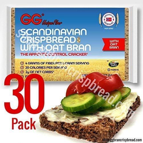 GG Crispbread with Oat Bran - 30 pack