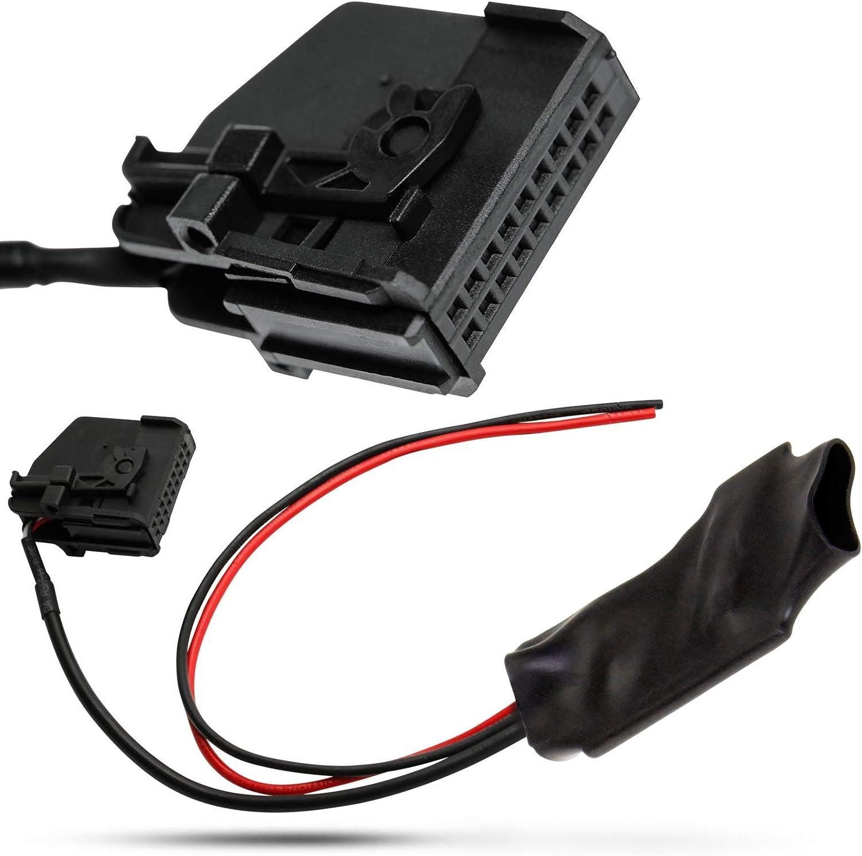 Aux Ligne En Câble Adaptateur pour Mercedes Comand 2.0 Blaupunkt Sans TV