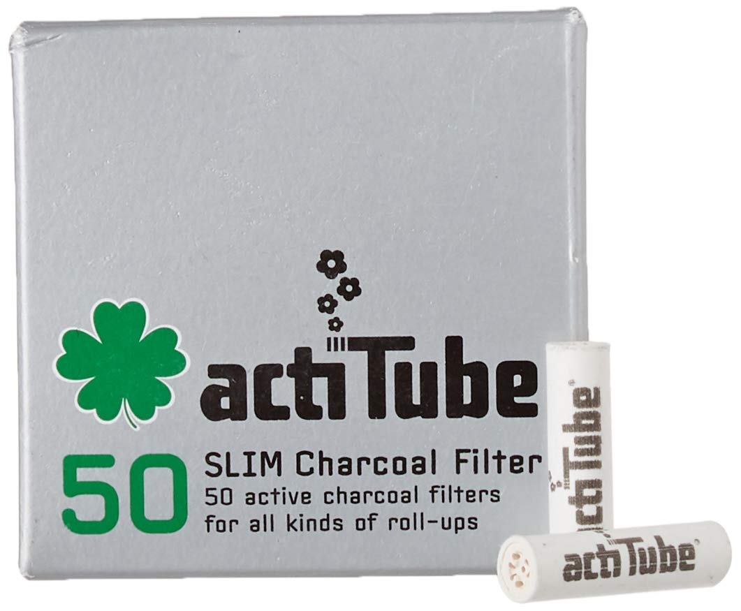 Filtro de carb/ón Activo 10x50 actiTube Kogu Set Slim 7,1 mm, Incluye Funda J 500