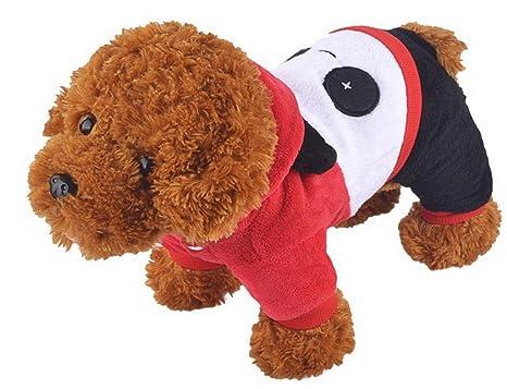 EOZY Costumes / Sudaderas / Abrigo Para Perros Gatos Mascota Con Capucho-Forma Panda Talla