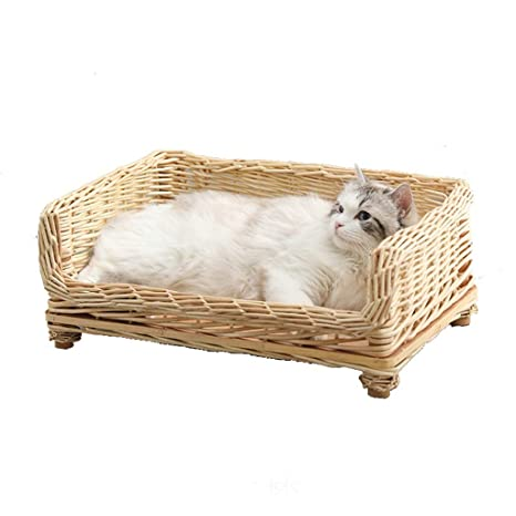 Cama de Gato de ratán Cama de Gato de Verano Gato Marco de ...