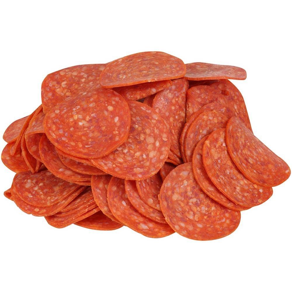 Tyson Bonici Orange Pepperoni Colour Stable Pizza Topping, 5 Pound - 2 per case.