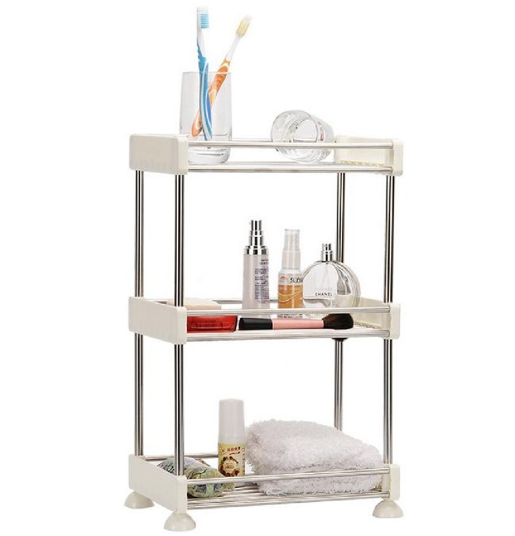 Tootless Shelving Stackable Supreme 3 Tier Steel Turn-N-Tube 4-Tier 4-Shelf Wire Storage Heavy Duty Fit-and-Flare Shelf AS1 2 Shelves