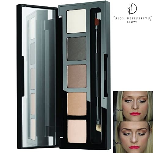HD Brows® High Definition Brows Eye and Brow Foxy Palette Eyebrow Lash Booster Shadow Genuine Makeup