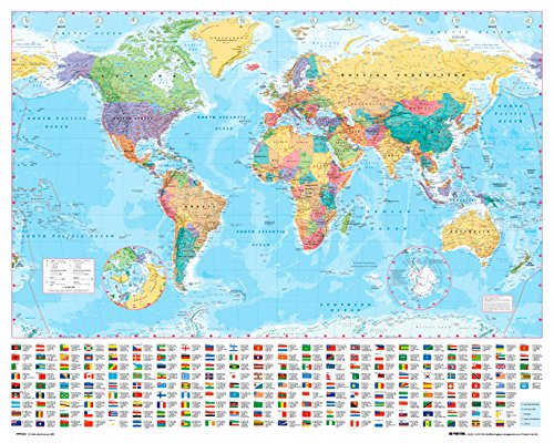gb eye world map poster - 5