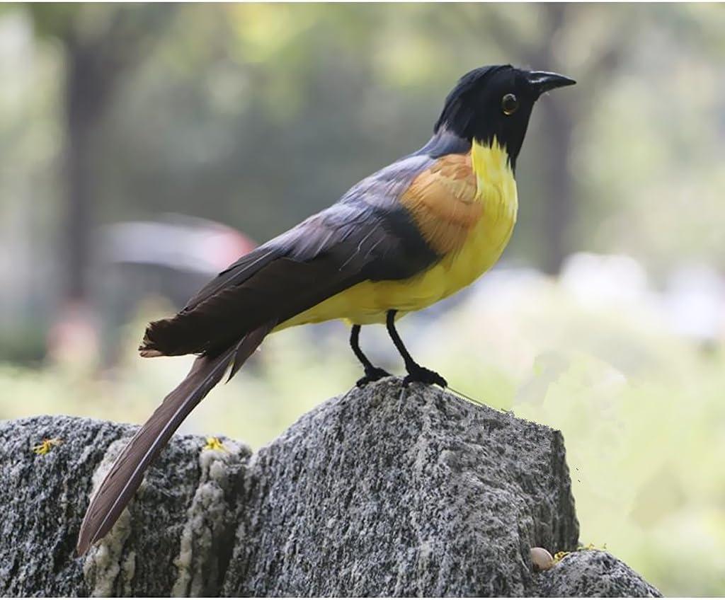 16/'/' Emulation Artificial Bird Taxidermy Natural Home Tree Decor Toy Xmas Gift