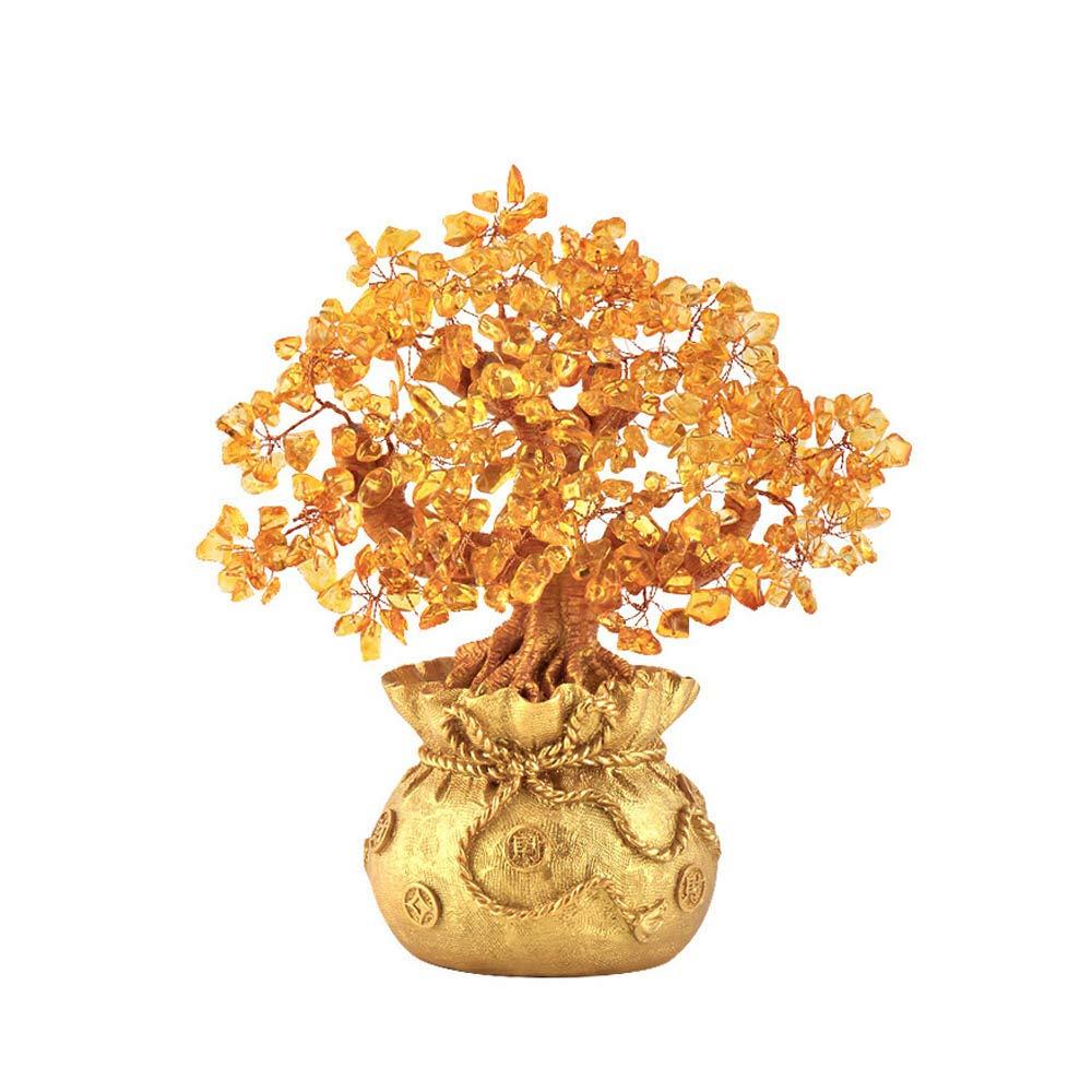 [해외]골드 도금 머니 트리 많은 동전 부 신 공예 オ?プニングギフトトレジャ?ボウルホ?ムオフィスコルヌコピア 장식 / Gold plated money tree Many coins wealth God resin crafts opening gift tregerbour Home Office Scorpion Kopia Decor