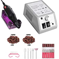 DreamSter - Juego de brocas para uñas, herramientas eléctricas y profesionales, para uñas acrílicas