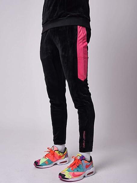 Project X Paris - Pantalones de Correr de Terciopelo con Rayas ...