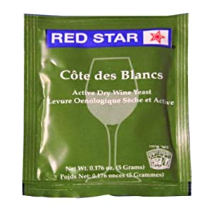 Red Star Cote des Blancs - Net Wt. 0.176 oz( 5 grams)