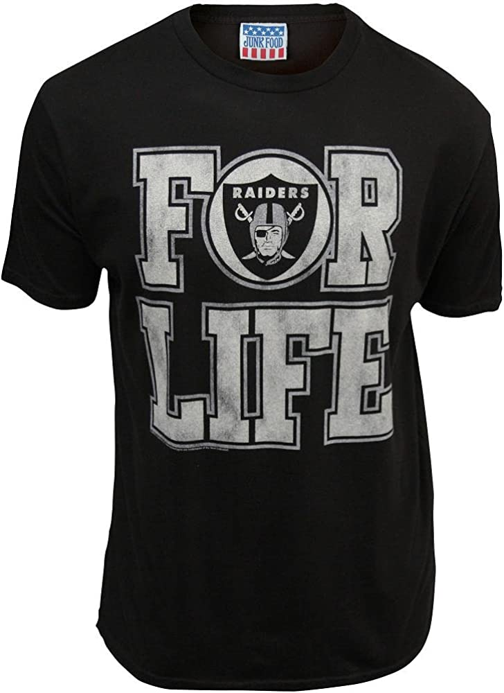 NFL Oakland Raiders For Life Shirt Black