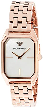 2a18c87576 Image Unavailable. Image not available for. Colour: Emporio Armani Gioia Analog  Multi-Colour Dial Women's Watch-AR11147