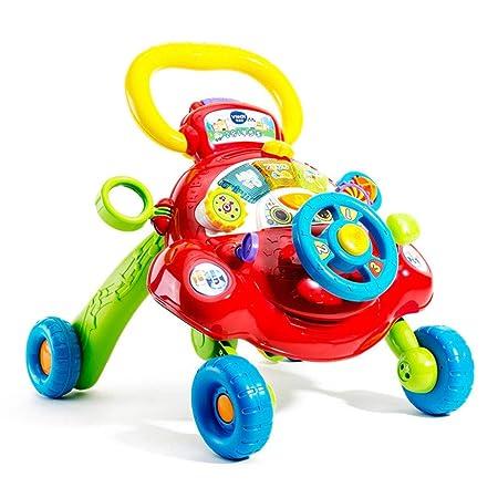 DMMW Andador para Bebé Multifunción bebé Walker Cesta ...
