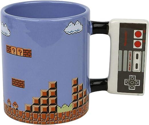 Super Mario Bros – XXL Taza de café 575 ml – Nivel 1 – Caja de regalo: Amazon.es: Hogar