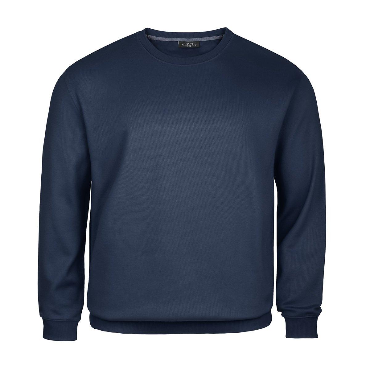 Kitaro XXL Sweatshirt Rundhals Navy