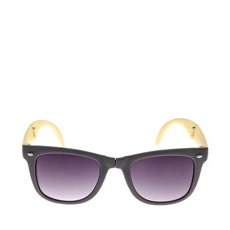 Gafas de sol Plegables. (Gris/Amarillo): Amazon.es: Coche y moto