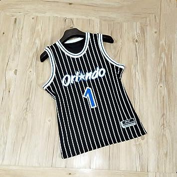 Sport-Shorts Trainingsanzug,XXL YDYL-LI Orlando Magic Tracy McGrady Basketball-Fans Jersey Atmungsaktive Mesh-Shorts