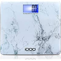 iDOO Digital Bathroom Scale Ultra Wide Heavy Duty Precision Oversized Digital Weight Scale Big Platform with Large Backlit LCD Display 440lb