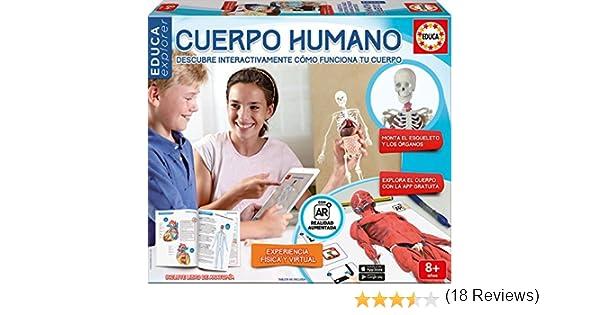 Educa Borrás - Conoce tu Cuerpo, Juego Educativo con App (16560): Amazon.es: Juguetes y juegos