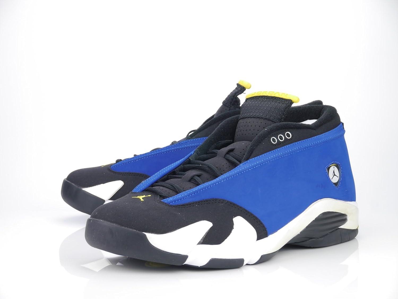 [ジョーダン] メンズバスケットボール14ローLaney靴 B011KHGN34 ブルー 8.5 D(M) US